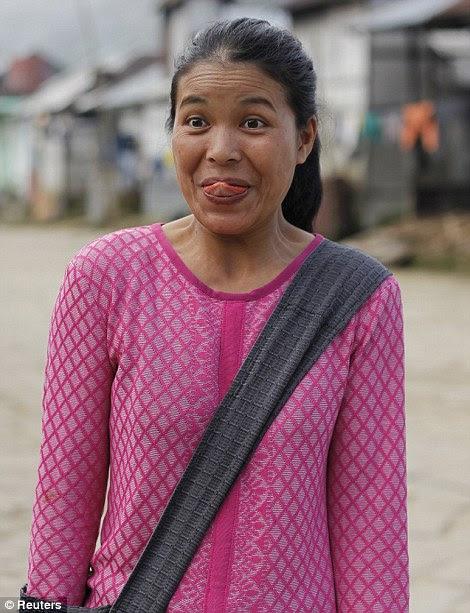 Siami, 30 anos, a 39ª esposa de Ziona