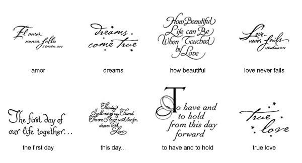 Quote Napkin Designs