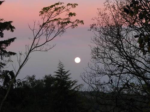 lua de verão no hemisfério sul