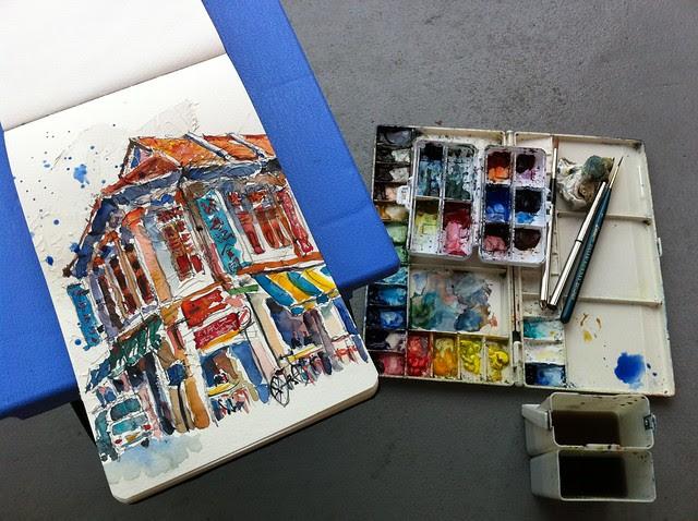 Duxton Hill Sketchwalk 29-10-2011