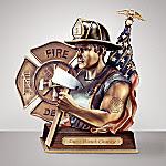 Duty, Honor, Courage Fireman Figurine