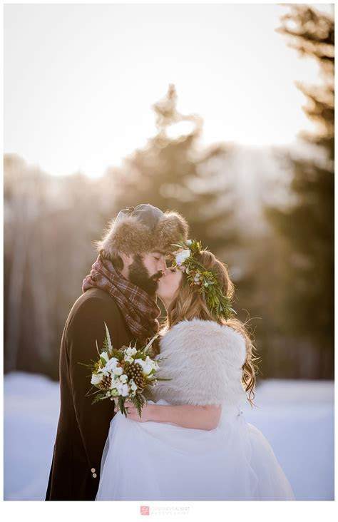 Mariage d?hiver / Rustic Winter Wedding ? Bean Town Ranch