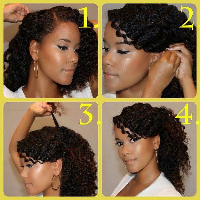 tutorial acconciature capelli ricci - 9 Tutorial per Acconciature Capelli fai da te per ogni Occasione