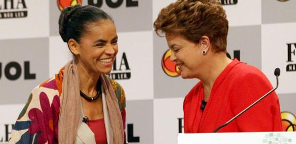 Marina Silva e Dilma