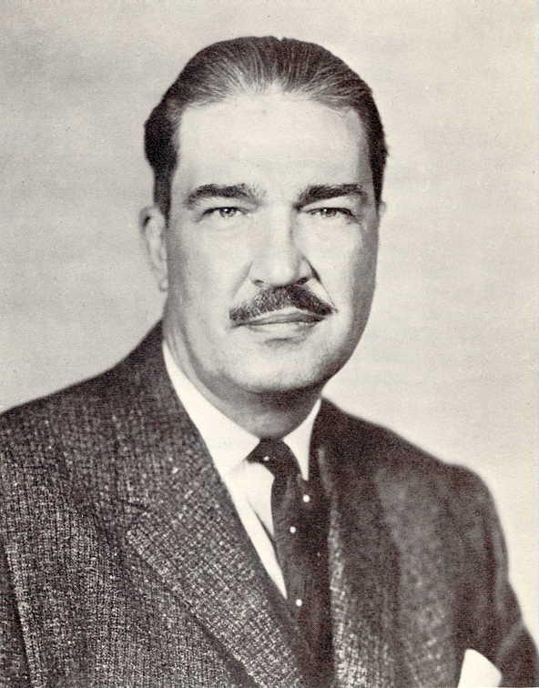 Revilo P. Oliver, 1963.  Credit: Wikimedia Commons