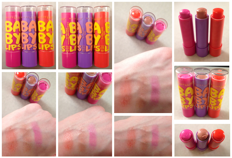 Maybelline Baby Lips in Peach Kiss & Coral Crush ...