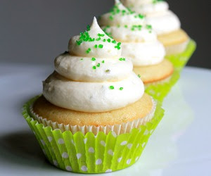 Festive Margarita Cupcakes