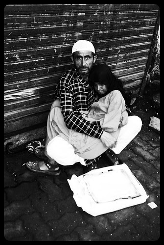 The Kashmiri Migrant Begs On The Streets Of Mumbai by firoze shakir photographerno1