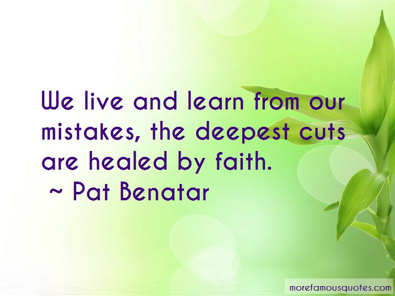 We Live And Learn From Our Mistakes Quotes Top 36 Quotes About We