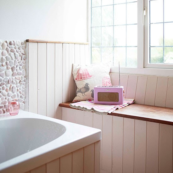 Bathroom | Oxfordshire modern country house | House tour | PHOTO GALLERY | Country Homes and Interiors | Housetohome.co.uk