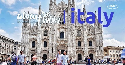 Away We Wow | Italy in 360º (360 VR travel video)