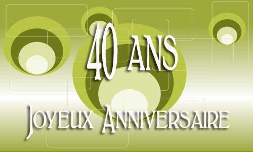 Carte Anniversaire Homme 40 Ans Virtuelle Gratuite à Imprimer