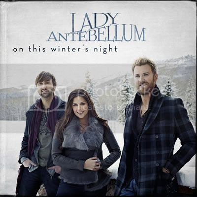 Lady Antebellum 2012 Christmas CD Cover