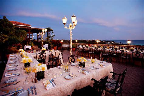 wedding reception  la trattoria el faro blanco aruba