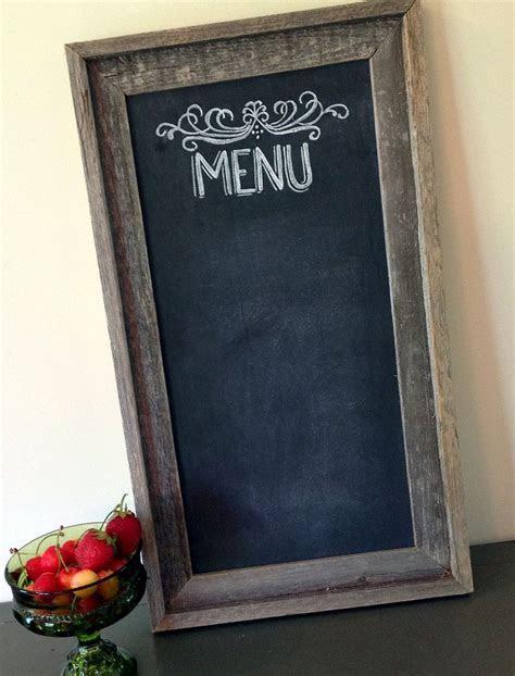 Farmhouse Chic Chalkboard Sign   Rustic Wedding Decor