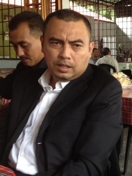 Peguam Nor Azli Ahmed, mewakili Defendan.