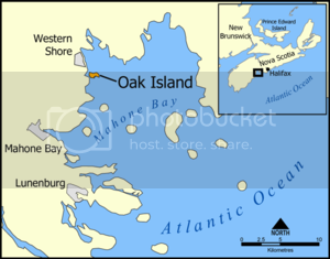 Location of Oak Island