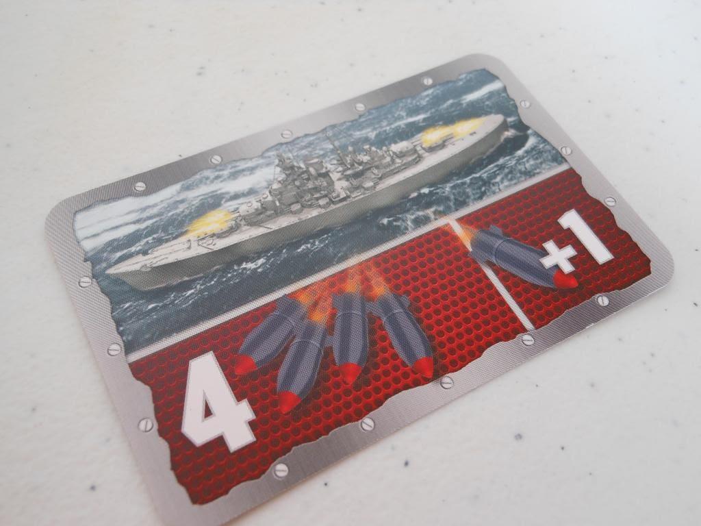 Battleship card