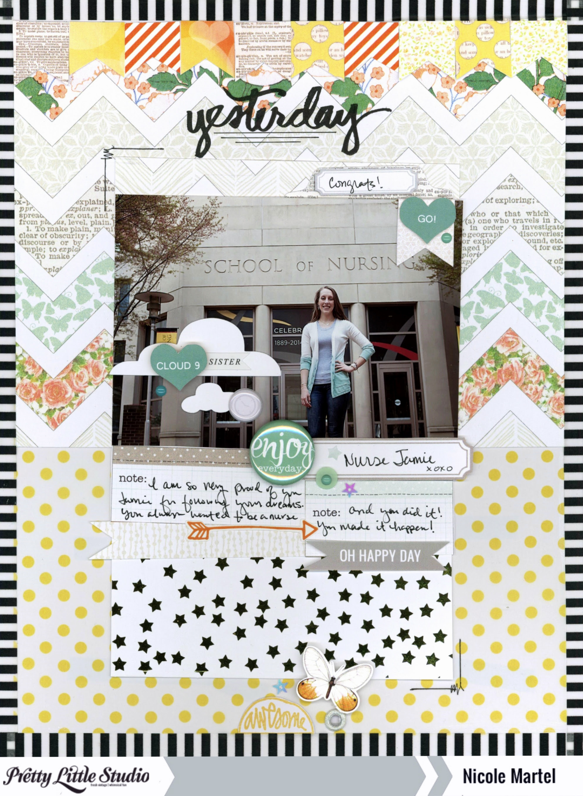 yesterday_nicole martel_Pretty Little Studio_layout