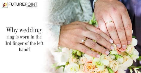 Why wedding rings worn in the 4th finger of the left hand