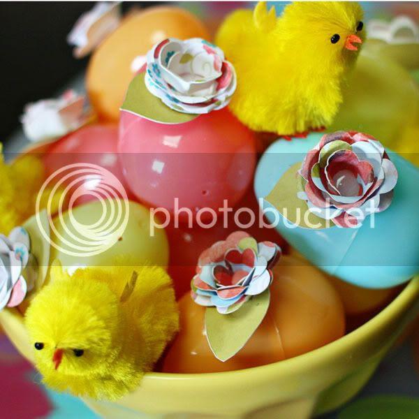 Easter Flower Eggs