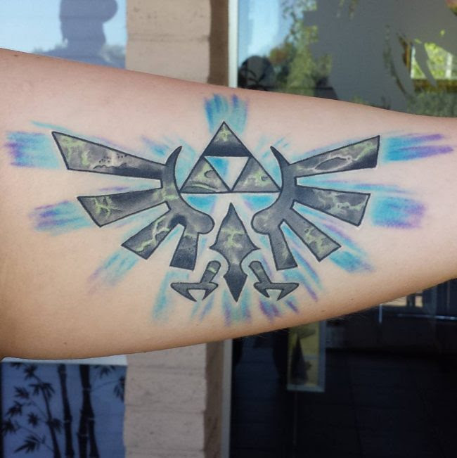 85 Mighty Triforce Tattoo Designs Meaning Discover The Golden Power