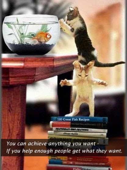 You Can Achieve Anything You Want If You Help Enough People Get