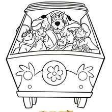 Coloriages Coloriage à Imprimer Scooby Doo Frhellokidscom