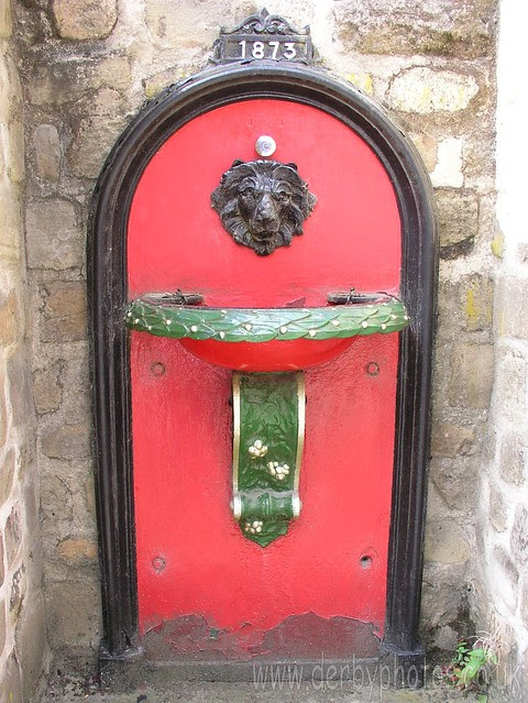 Andrew Handyside Drinking fountain at Crich Tramway Museum.