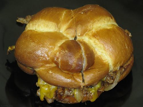 BBQ cheesesteak
