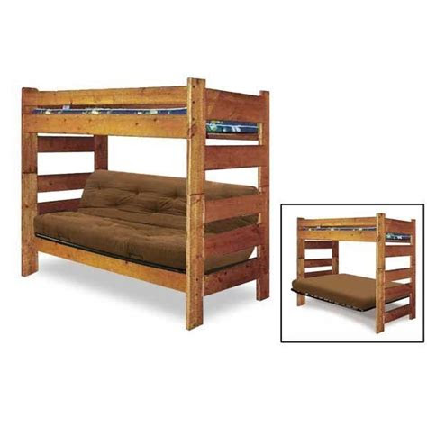 bunkhouse twinfull futon bunk  trendwood usa