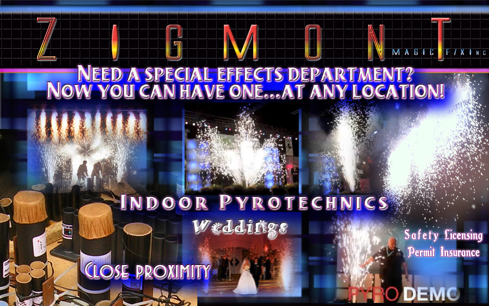 indoor pyro effects