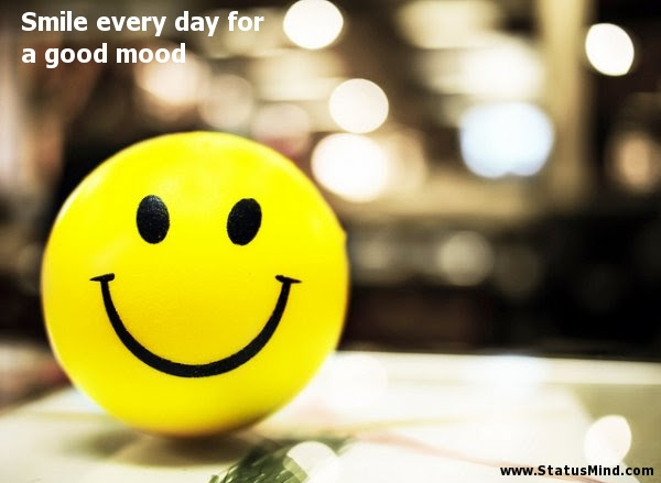 Smile Every Day For A Good Mood Statusmindcom