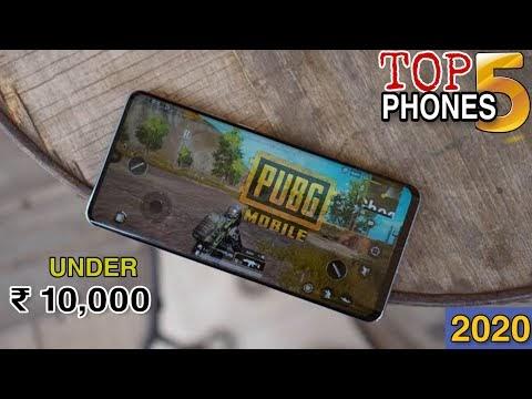 TOP 5 Best Gaming Smartphones Under ₹ 10,000   4GB RAM   64GB ROM   FHD Display   5000 mAh Battery ⚡