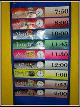4th Grade Daily Schedule   Daily Agenda Calendar