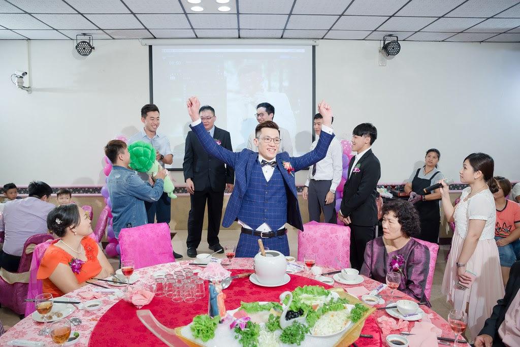 136明園餐廳北斗店婚攝