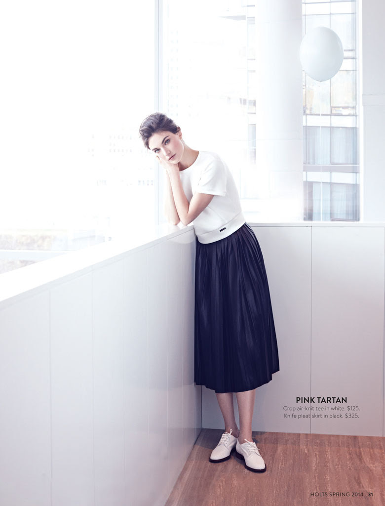 jacquelyn holt renfrew9 New Classics: Jacquelyn Jablonski Poses for Holt Renfrew by Max Abadian