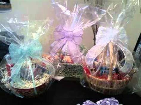Wedding shower gift basket ideas   YouTube