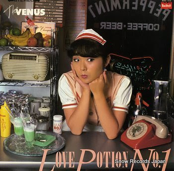 VENUS, THE love potion no.1