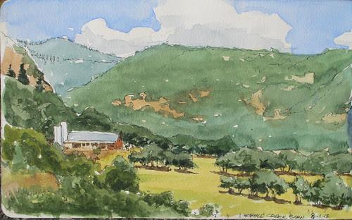 Hobble Creek Barn by Spencer Mackay