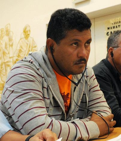El Dirigente sindical y abogado Frank Ramirez