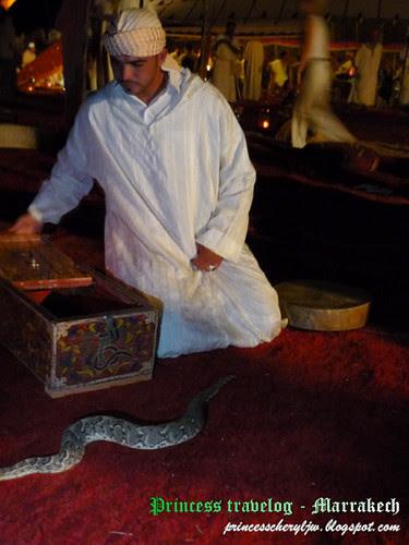 Snake charmer 1