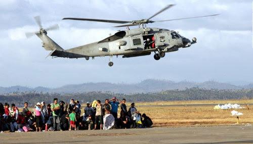 Mỹ, Philippines, siêu bão, Haiyan, cứu trợ