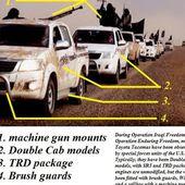 Le mystère des milliers de camionnettes Toyota de l'EI