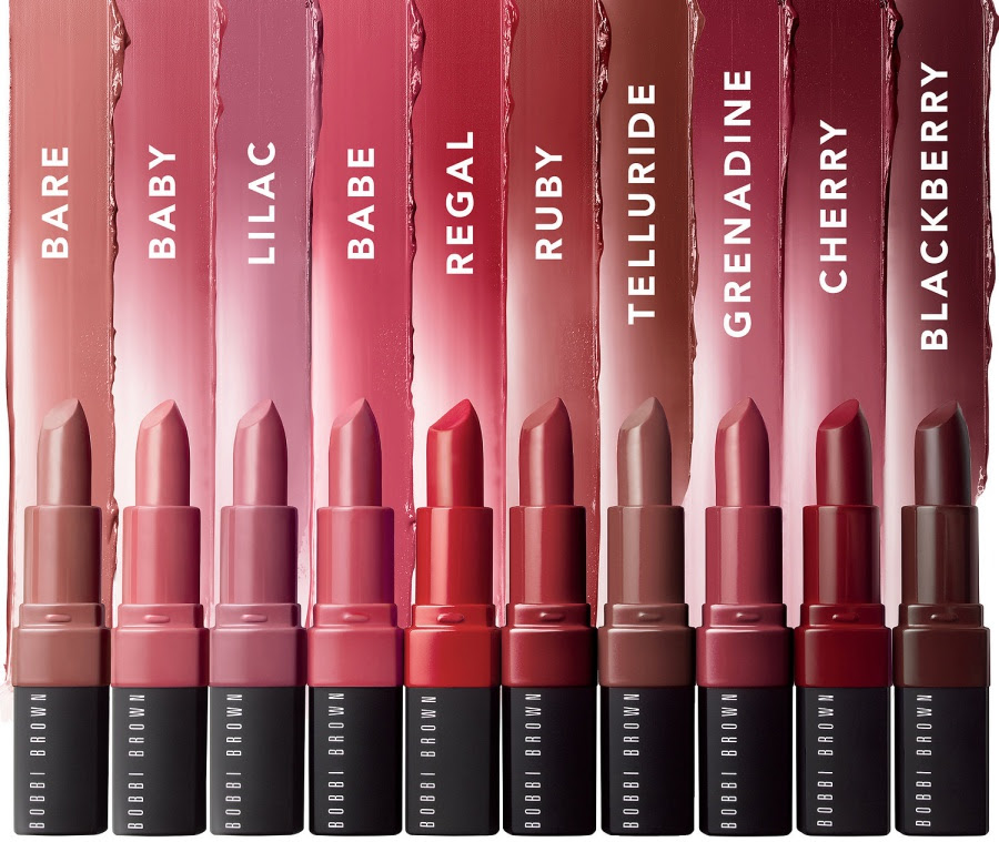 BOBBI BROWN Crushed Lip Color Swatches
