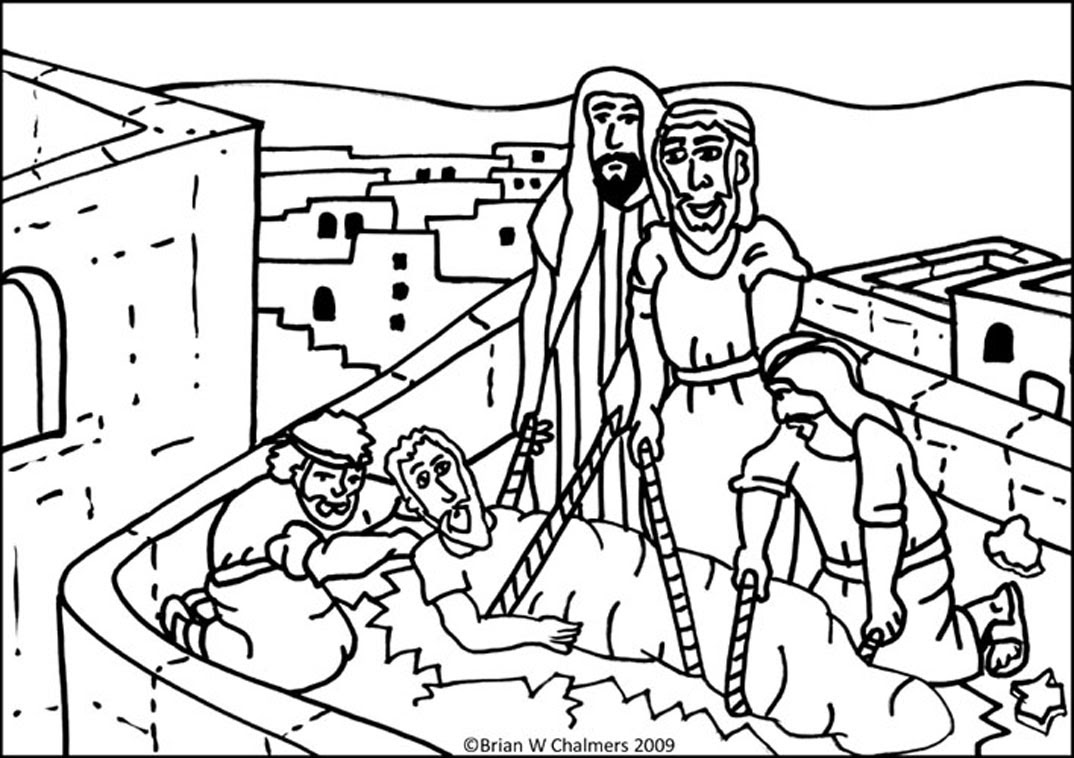 8100 Top Bible Coloring Pages Mark 2 1-12  Images