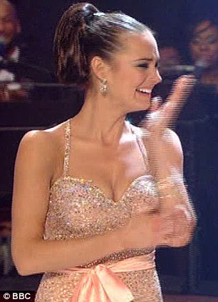 Rection: Kara burst into tears as soon as she found out she and Artem had won the show