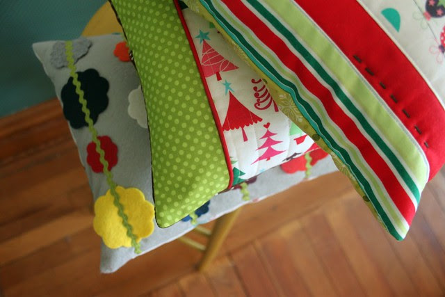 Christmas Pillows 1-2-3