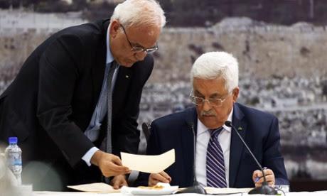 Mahmoud Abbas Saeb Erekat