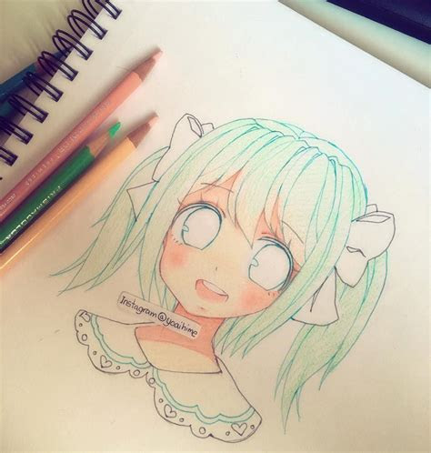 add pupils  shes  cutest   drawing